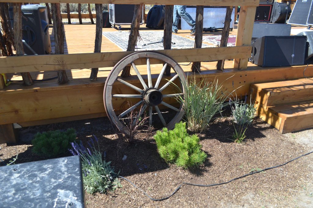 rustic stage in Minden Nevada